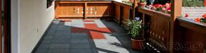 mattonelle per terrazza