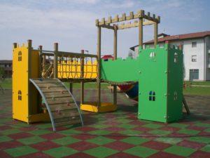 piastrelle per parco gioco