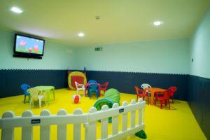 Stanza gioco interno Hotel & Residence Clipper